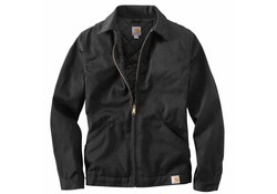 Carhartt Twill Work Black Jacket Heren