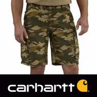 Rugged Cargo Khaki Camo Short Heren