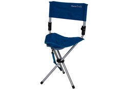 Eurotrail Escabeau Royal Blue Campingstoel