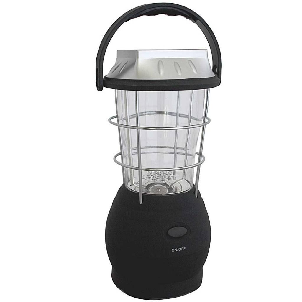 Eurotrail Camping Lantern Wega Zwart Kampeerlamp