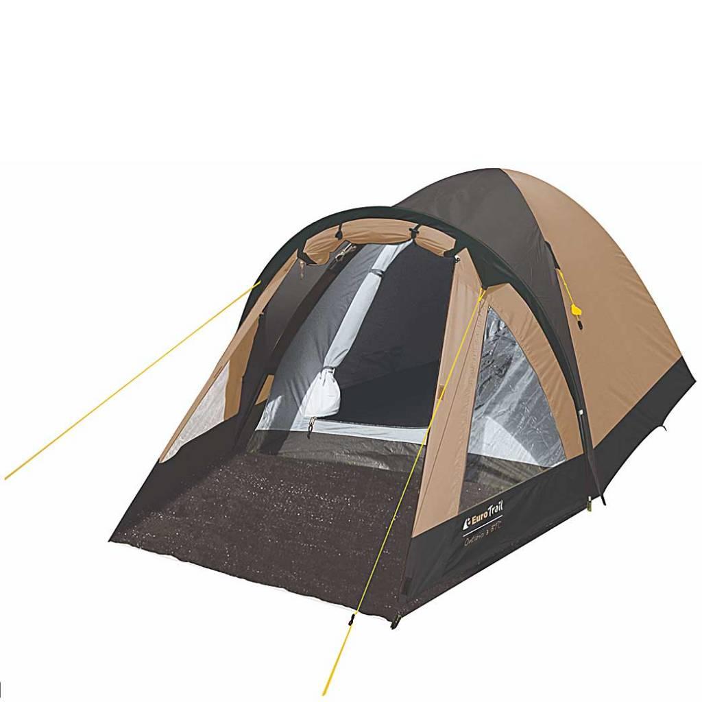 Eurotrail Ontario 3 BTC Beige - Charcoal Tent