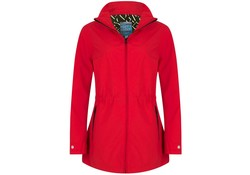Happy Rainy Days Jacket Rosa Red Regenjas Dames
