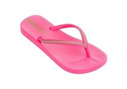 Ipanema Anatomic Metallic Pink Neon Slippers Kids