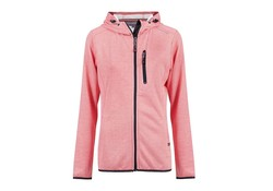 Life Line Janine Cayenne Hooded Sweat Vest Dames