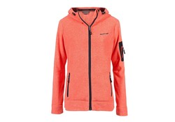 Life Line Jessie Cayenne Hooded Fleece Vest Dames