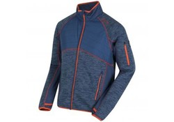 Regatta Robson Hybrid Dark-Denim Fleece Jas Heren