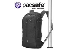 Pacsafe Venturesafe X22 Anti-diefstal Black Rugzakken