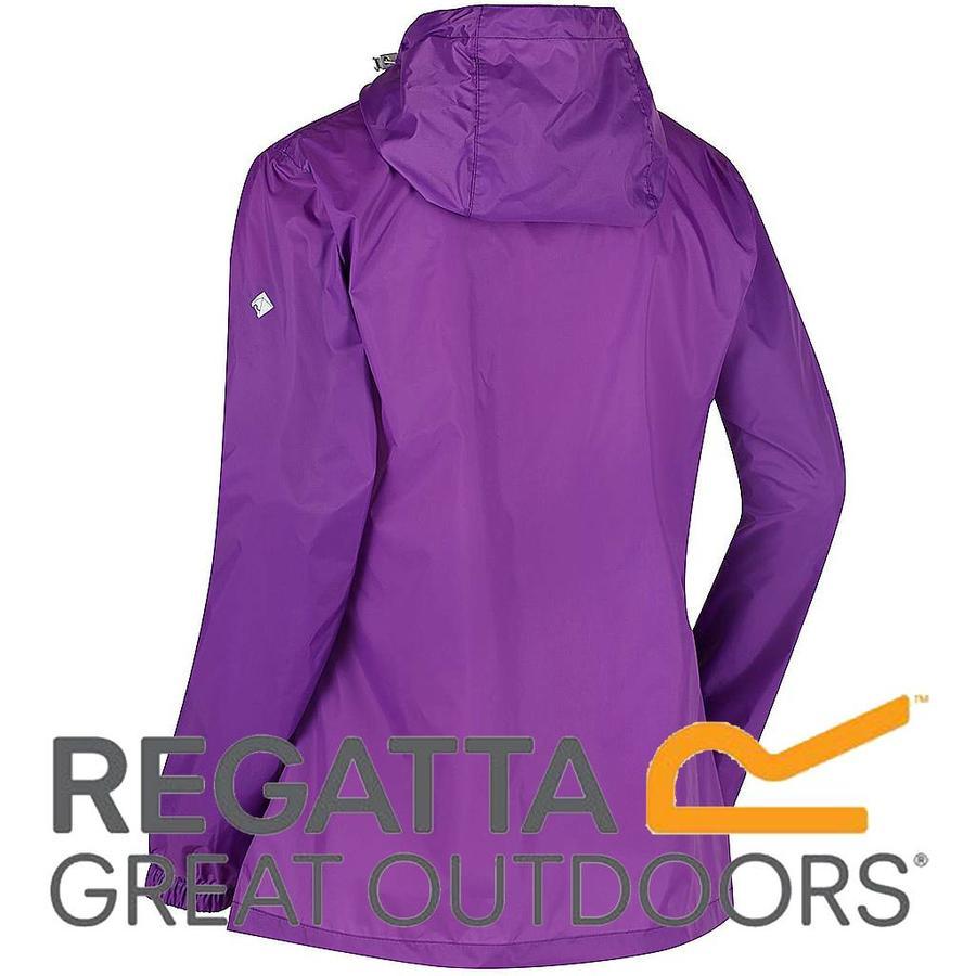 Pack It Jkt III Ultra Purple Regenjas Dames