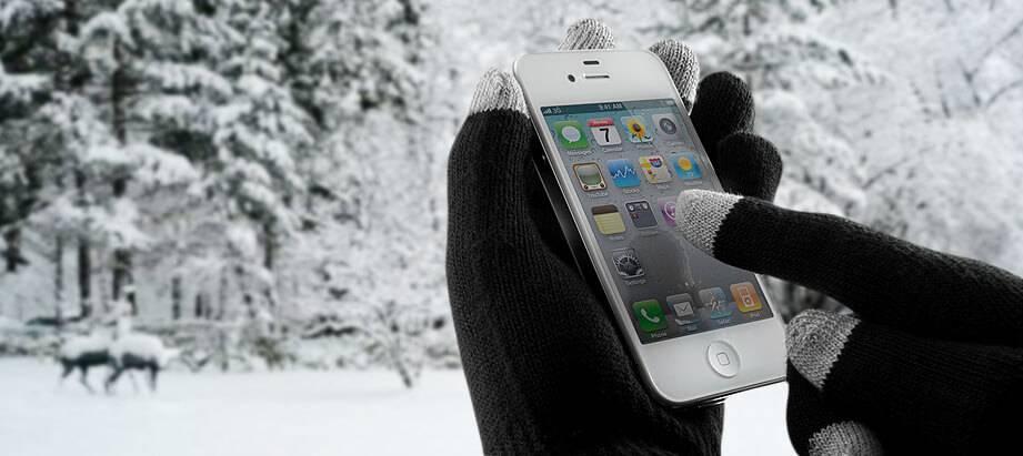 Maak je telefoon klaar voor de winter