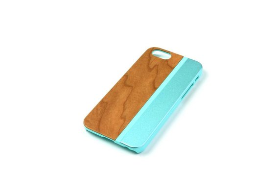 PhoneJuice ALWO Case - Kers/Blauw - iPhone 5(s)(se)