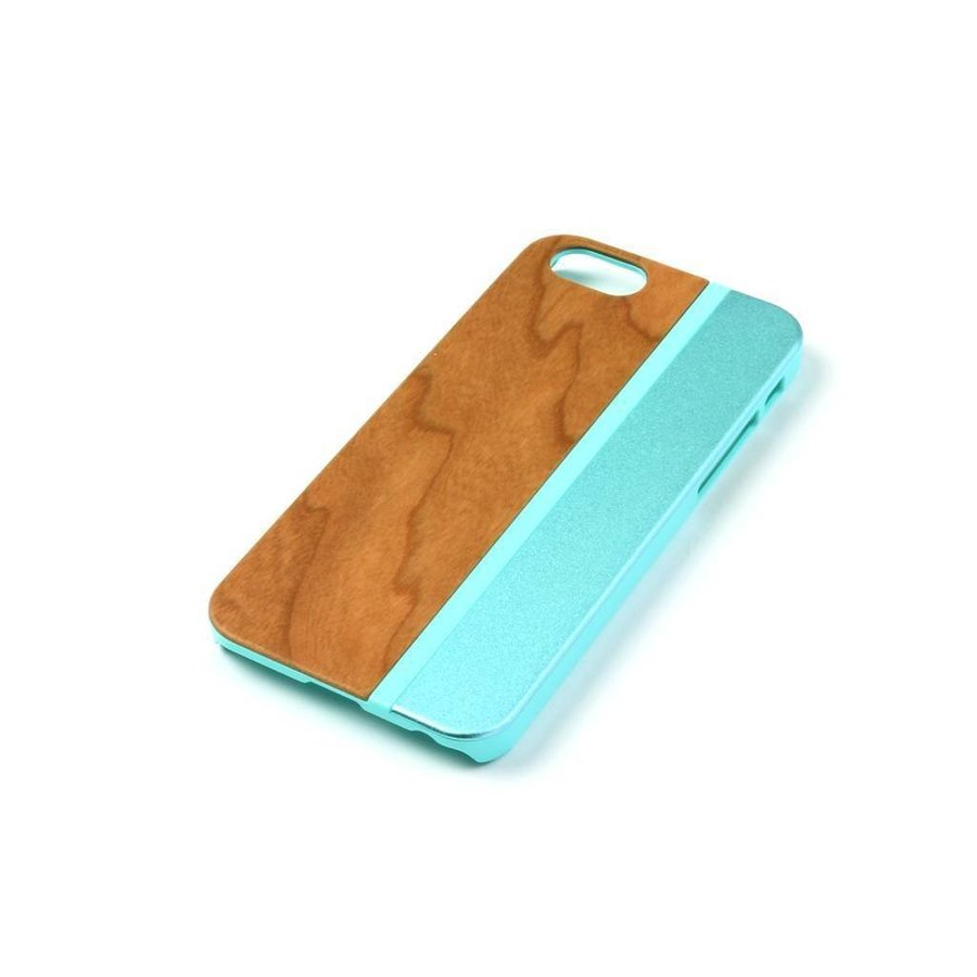 ALWO Case - Kers/Blauw - iPhone 5(s)(se)