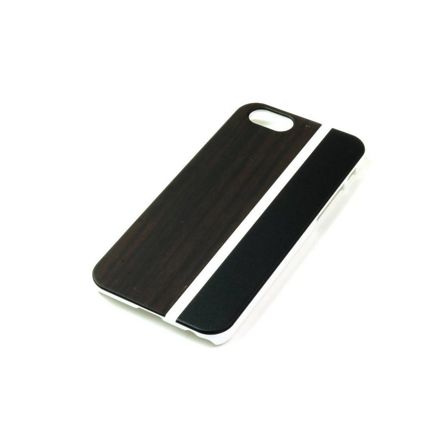 ALWO Case - Padauk/Zwart - iPhone 5(s)(se)