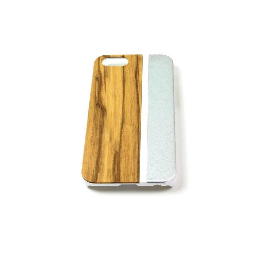 ALWO Case - Zebra/Zilver - iPhone 5(s)(se)