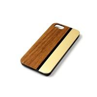 ALWO Case - Zebra/Goud - iPhone 5(s)(se)