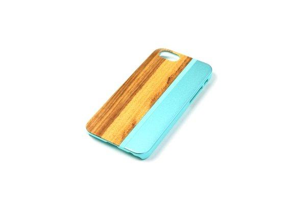 PhoneJuice ALWO Case - Zebra/Blauw - iPhone 5(s)(se)