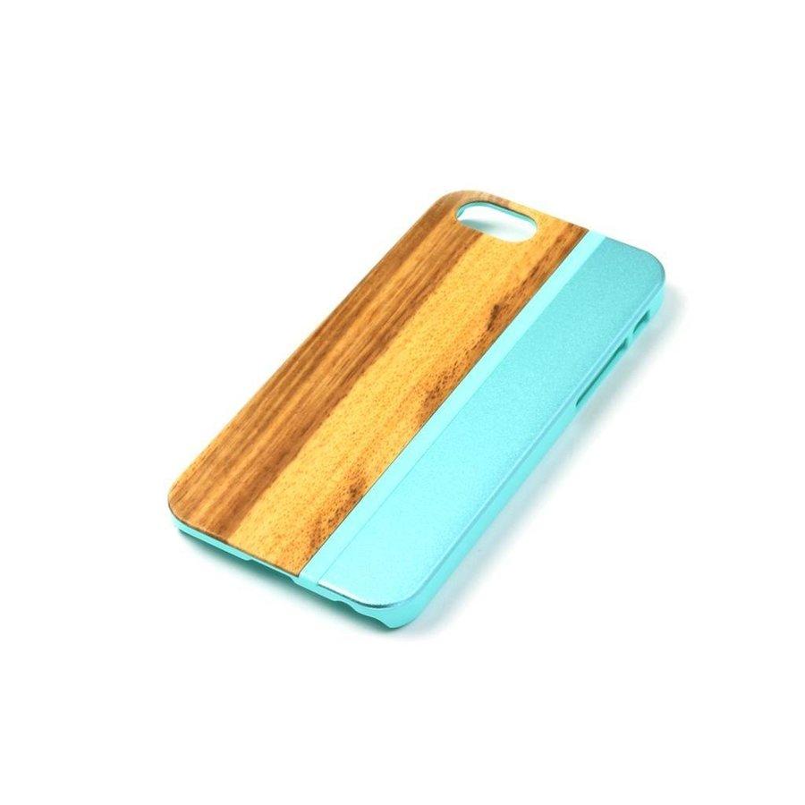 ALWO Case - Zebra/Blauw - iPhone 5(s)(se)