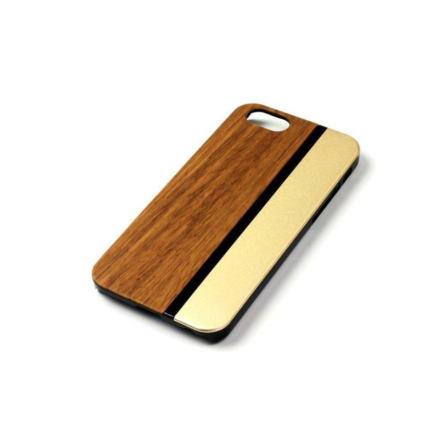ALWO Case - Zebra/Goud - iPhone 6(s)