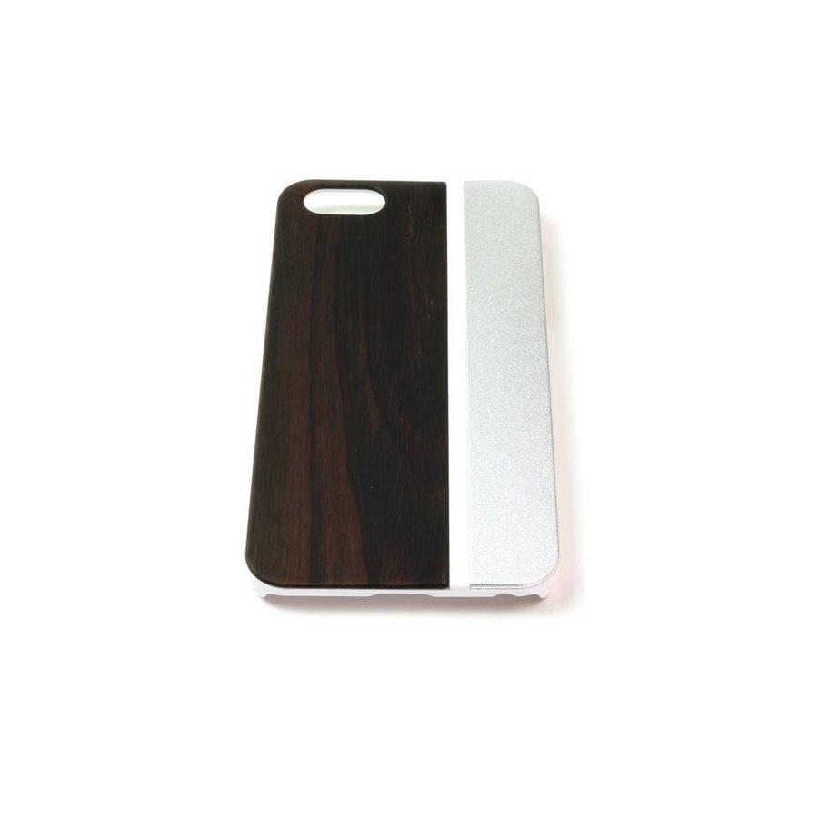 ALWO Case - Padauk/Zilver - iPhone 6(s) Plus