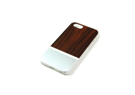 PhoneJuice ALWO Case 2 - Padauk/Zilver - iPhone 6(s)
