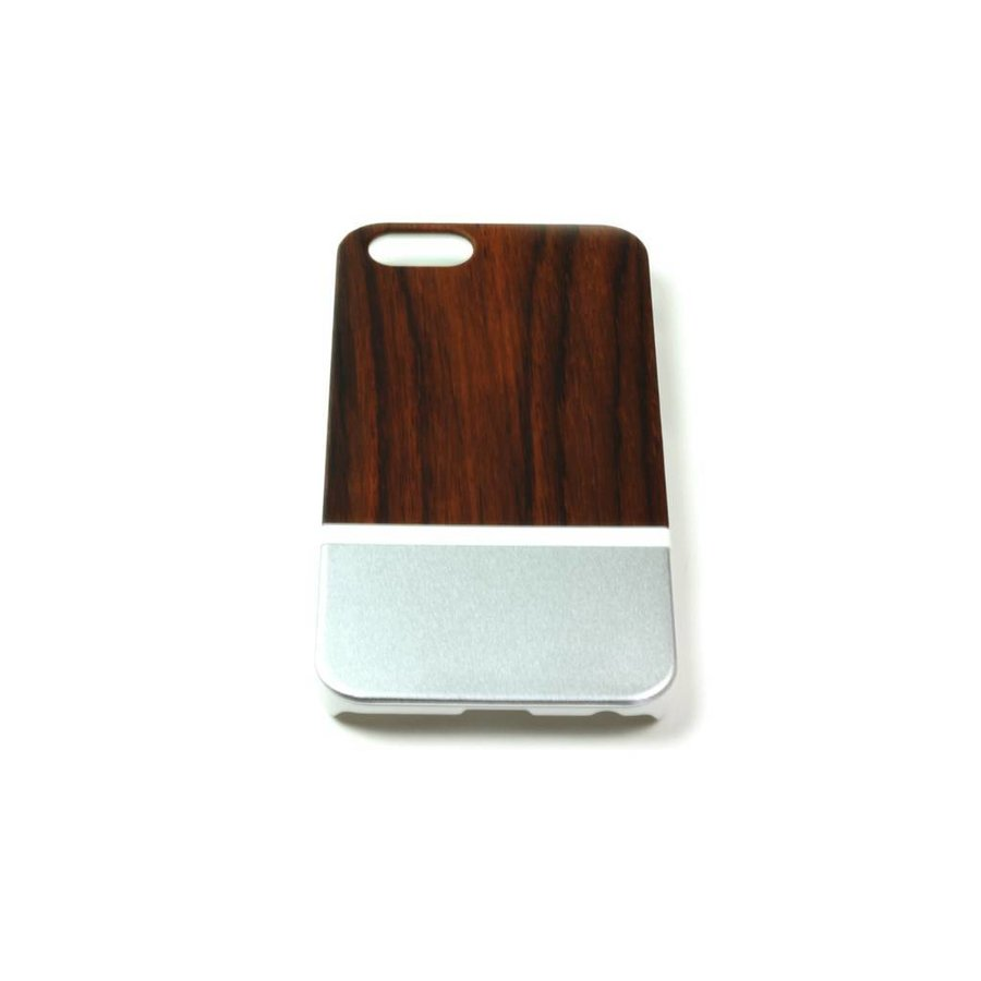 ALWO Case 2 - Padauk/Zilver - iPhone 6(s)