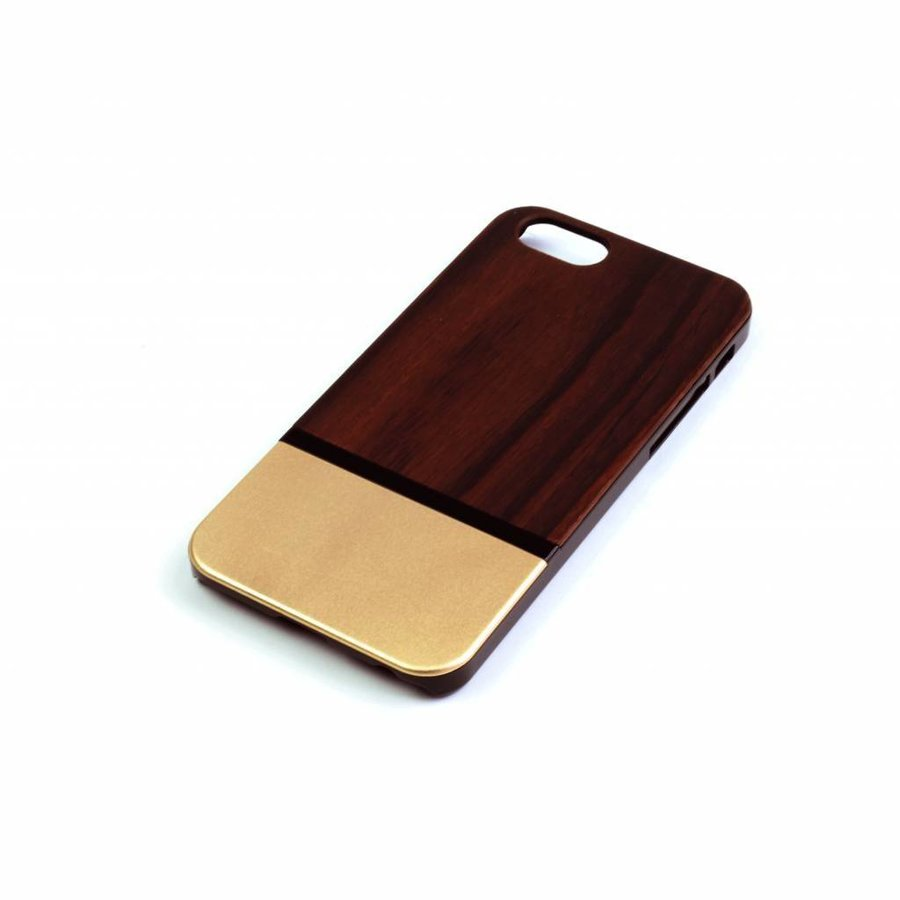 ALWO Case 2 - Padauk/Goud - iPhone 6(s)