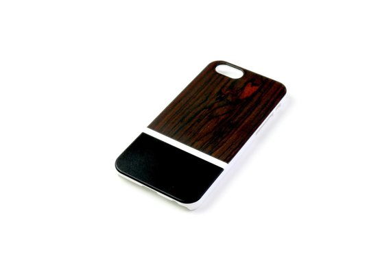 PhoneJuice ALWO Case 2 - Padauk/Zwart - iPhone 6(s)