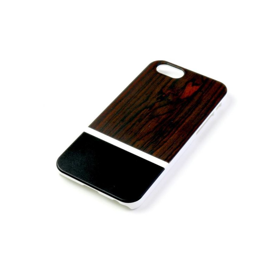 ALWO Case 2 - Padauk/Zwart - iPhone 6(s)