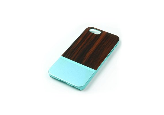 PhoneJuice ALWO Case 2 - Padauk/Blauw - iPhone 6(s)