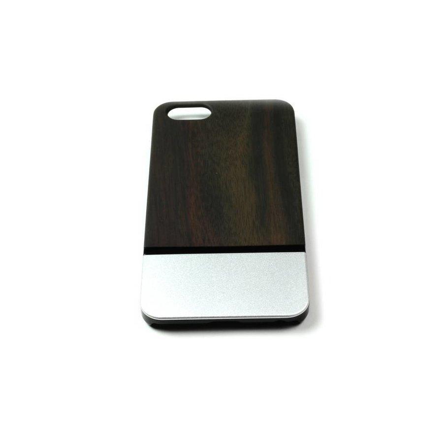ALWO Case 2 - Padauk/Zilver - iPhone 6(s) Plus