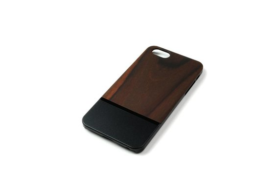 PhoneJuice ALWO Case 2 - Padauk/Zwart - iPhone 6(s) Plus