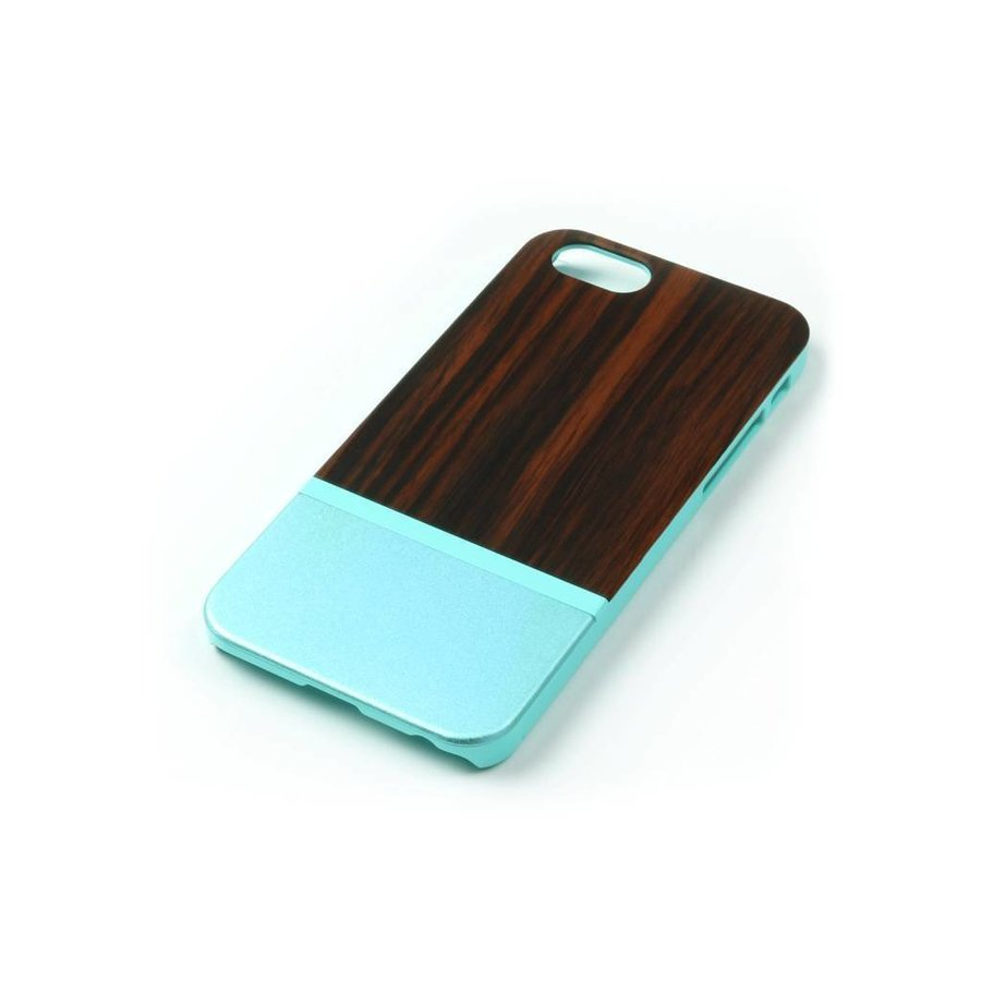 ALWO Case 2 - Padauk/Blauw - iPhone 6(s) Plus