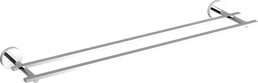 Flat double towel rail