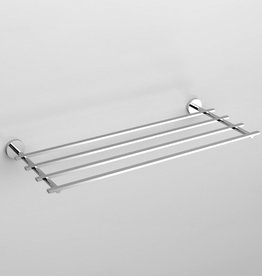 Flat towel rack