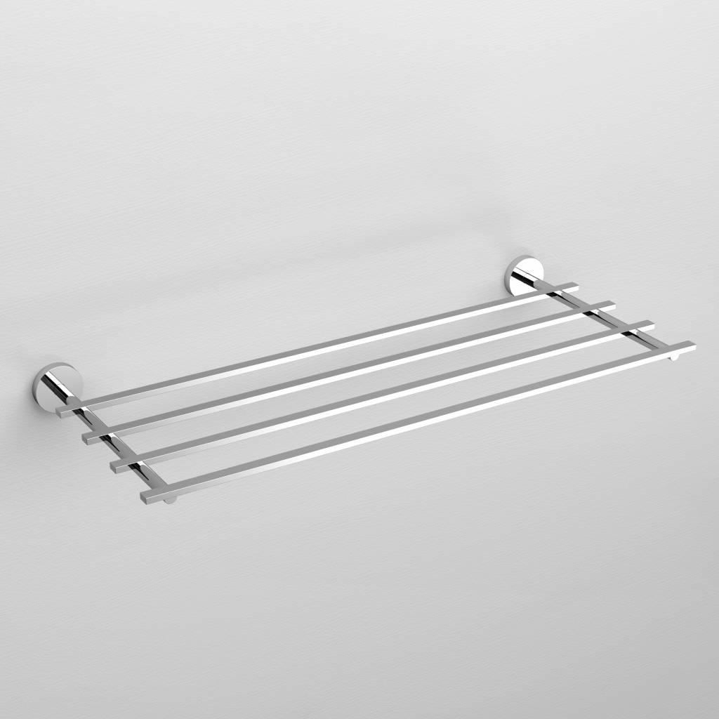 Flat porte-serviette étagère