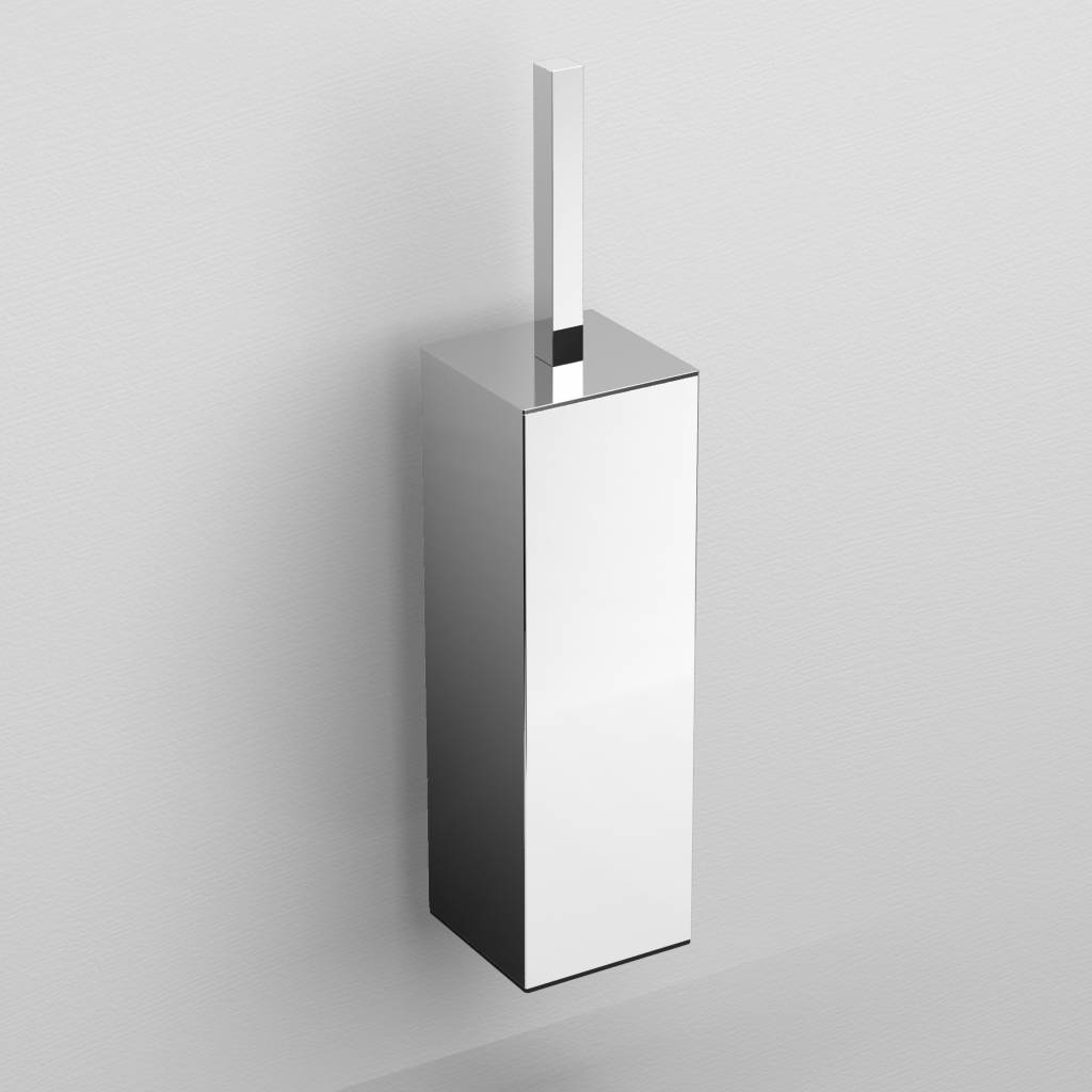 Quadria toilet brush holder, wall mounted