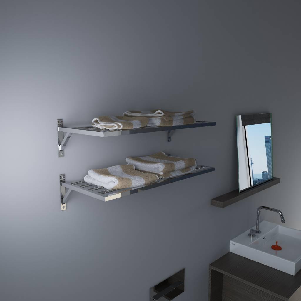 Quadria porte-serviette étagère