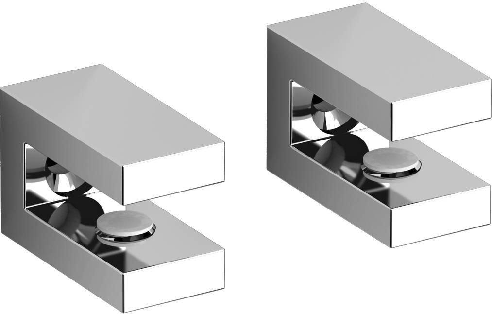 Quadria set van 2 planchetdragers