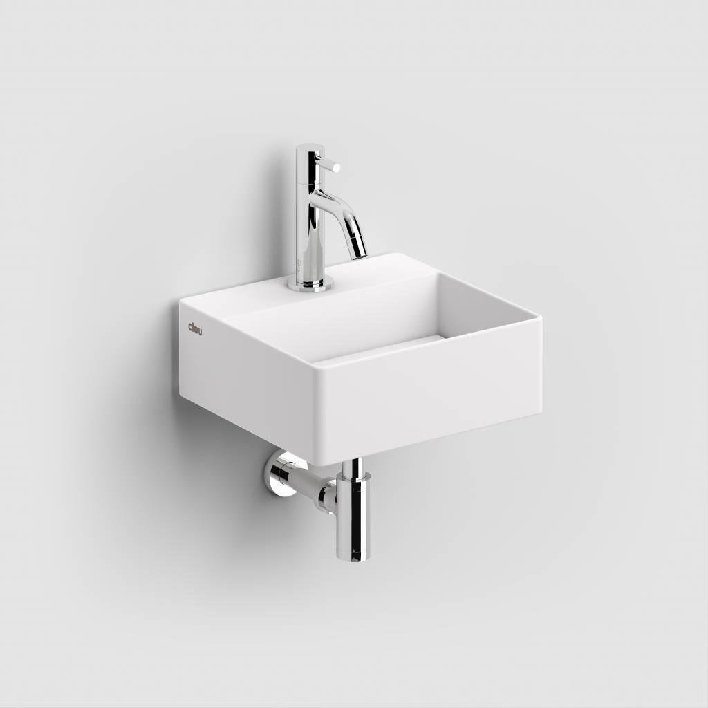lave mains new flush 1 avec tablette couvre bonde clou. Black Bedroom Furniture Sets. Home Design Ideas