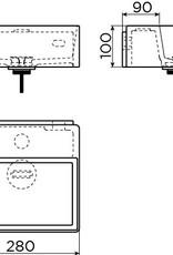 New Flush 1 lave-mains