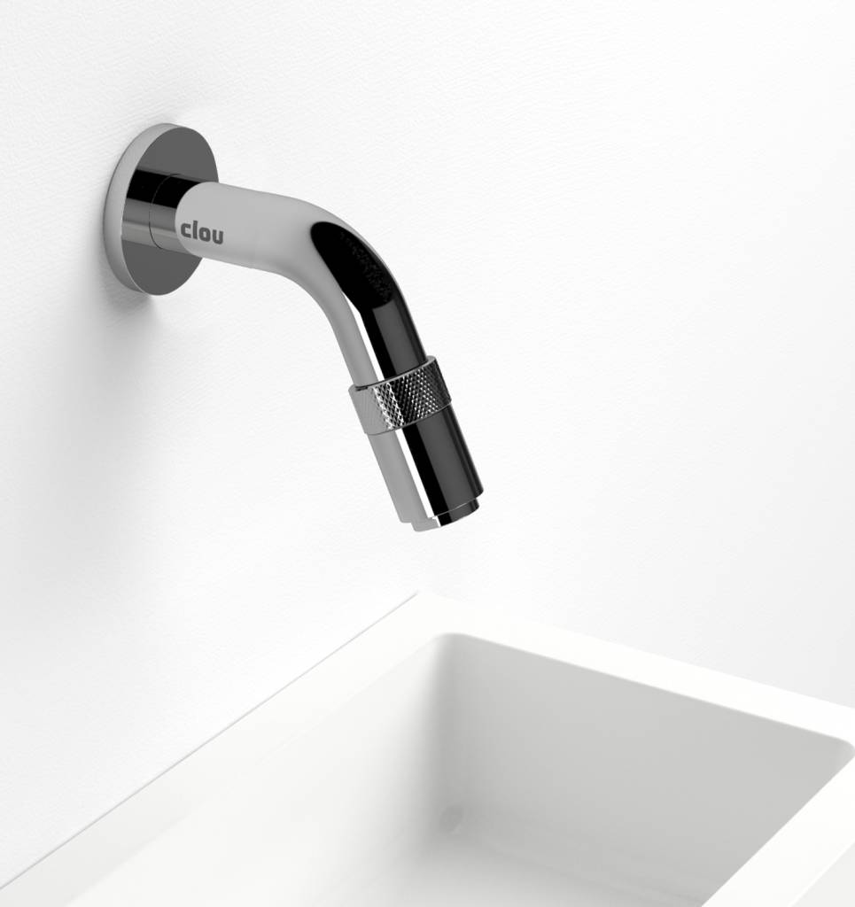 Freddo 11 cold water tap, short, wall mounted - Clou store_