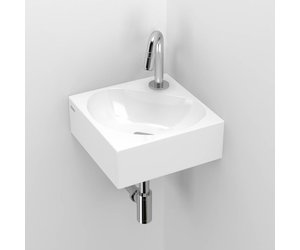 Flush corner hand basin clou store