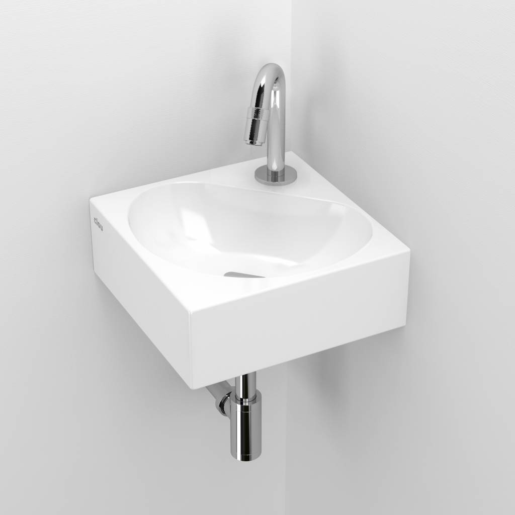 Genial Flush 5 Corner Hand Basin ...