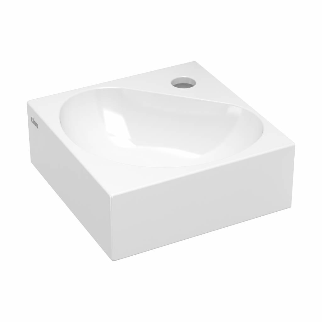 Flush 5 corner hand basin