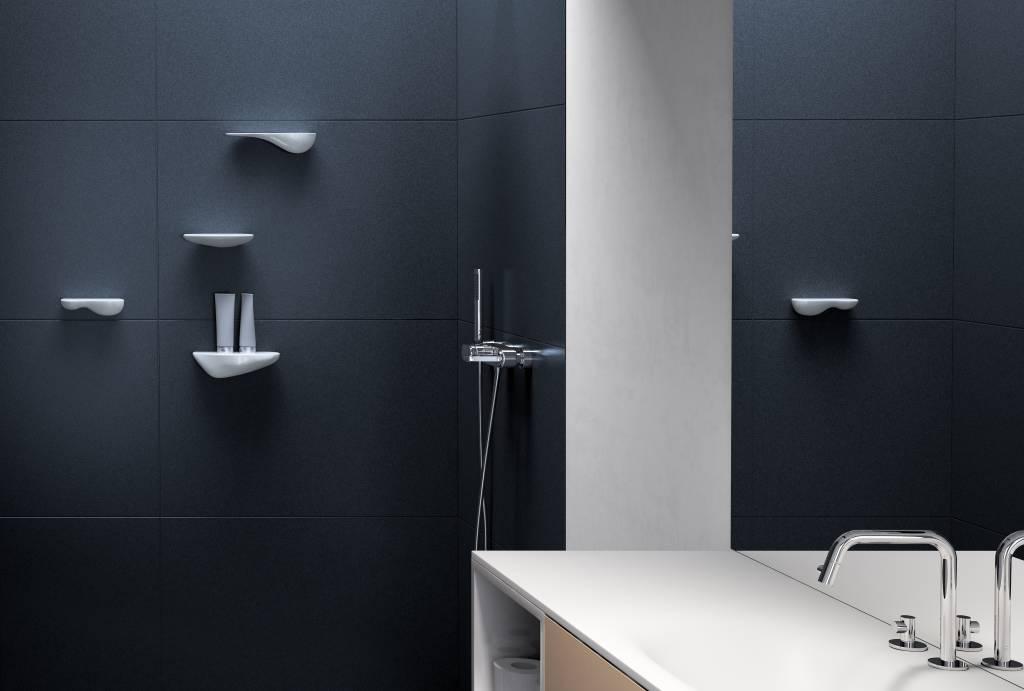 Cliff bathroom shelf 21 cm