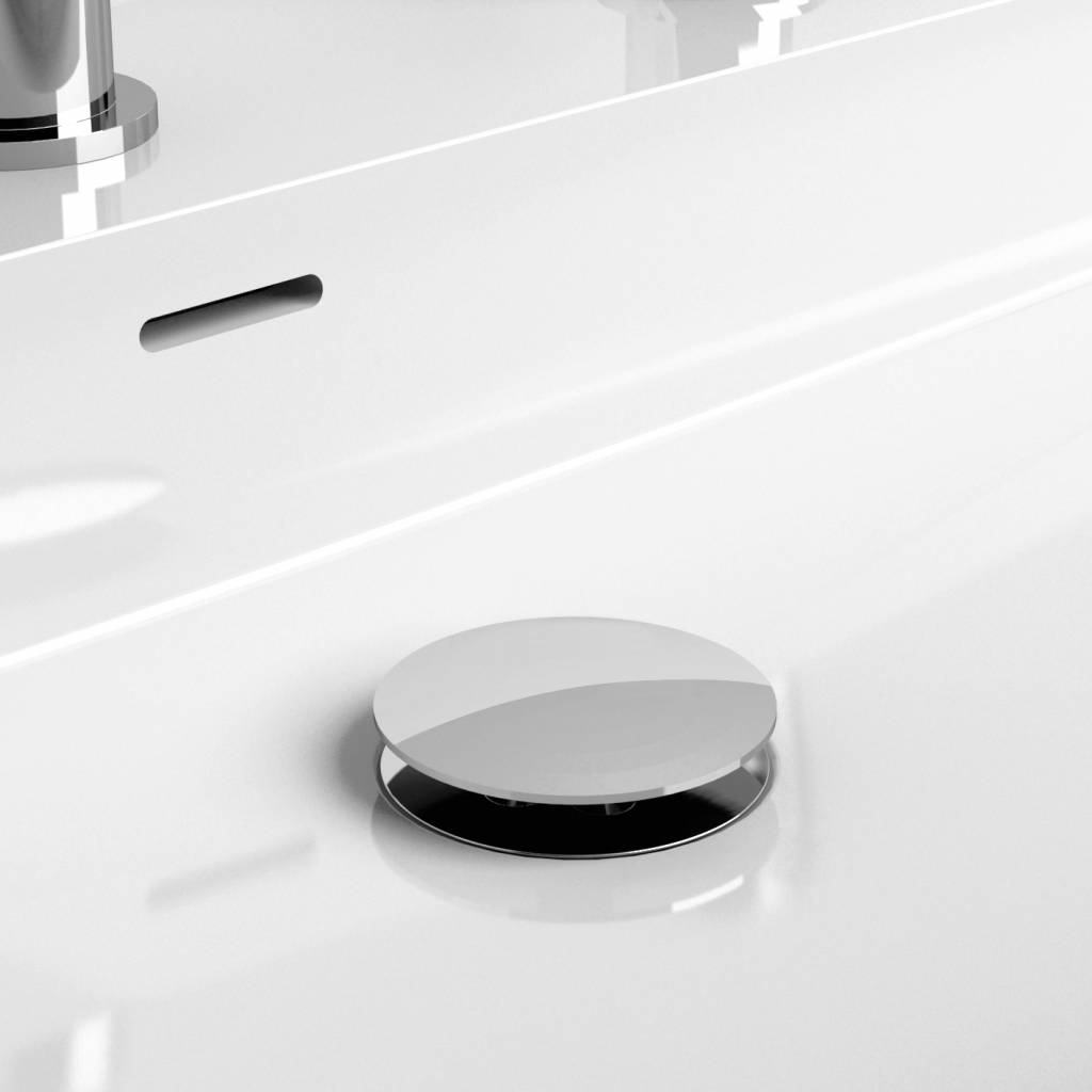 Wash Me drain set for washbasins, with cover