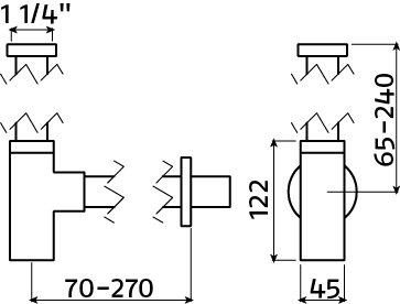 InBe design siphon type 11