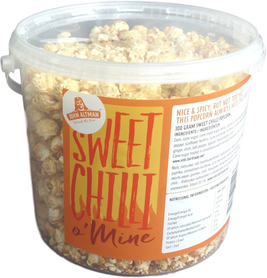 1 + 1 gratis:  Sweet Chilli (big bucket) 300 gram