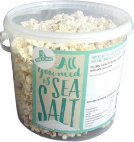 Sea Salt Popcorn  (big bucket)  200 gram