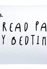 Blossom Books Bed Pillow: I read past my bedtime