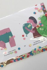 Dilemma op Dinsdag-verjaardagskaart met ballon